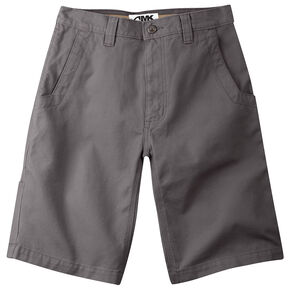 "Mountain Khakis Men's Alpine Relaxed Fit Utility Shorts - 7"" Inseam, Slate, hi-res"