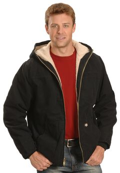 Dickies Sanded Duck Sherpa Lined Jacket - Big & Tall, , hi-res