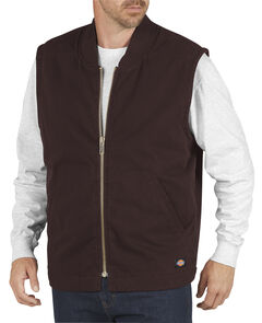 Dickies Sanded Duck Insulated Vest, , hi-res