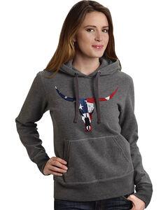 Roper Women's Americana Steer Hoodie, , hi-res