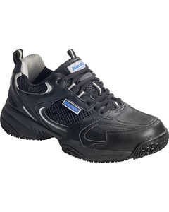 Nautilus Men's Black Athletic Work Shoes - Steel Toe, , hi-res