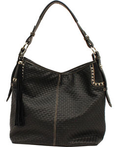 Blazin Roxx Women's Basketweave Shoulder Bag, , hi-res