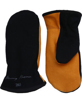 Stormy Kromer Men's Tough Mitts, Black, hi-res