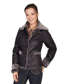 Scully Faux Fur Trim Jacket, , hi-res