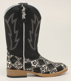 Blazin Roxx Girls' Miley Patchwork Cowgirl Boots - Square Toe, , hi-res