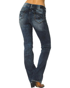 """Silver Women's Suki Slim Bootcut Relaxed Fit Jeans - 33"""" Inseam, , hi-res"""