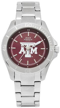 Jack Mason Women's Texas A&M Team Color Dial Sport Bracelet Watch , , hi-res