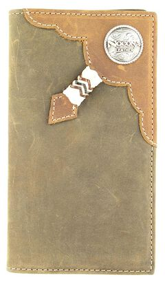 Rodeo Rawhide Lacing & Logo Concho Rodeo Wallet, , hi-res