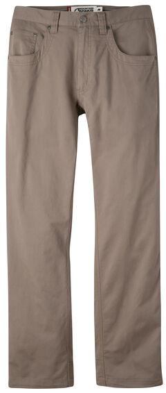 Mountain Khakis Men's Light Brown Camber Commuter Pants - Slim Fit , , hi-res