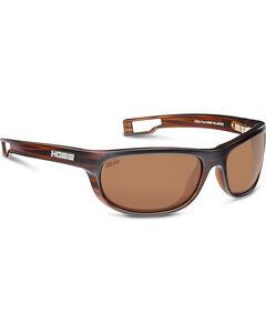 Hobie Men's Copper and Satin Brown Cruz-R Polarized Sunglasses , , hi-res