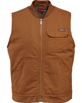 Wolverine Men's Insulated Ironwood Vest, Chestnut, hi-res