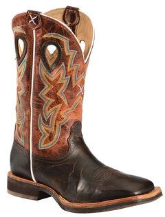 Twisted X Horseman Cowboy Boots - Square Toe, , hi-res