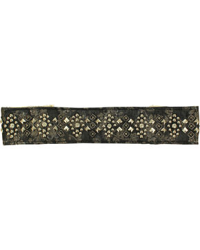 Blazin Roxx Studded Headband, Black, hi-res