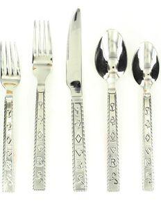 branded flatware set 20 piece set multi hi res - Clearance Home Decor