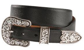 Ariat Cheyenne Belt, Black, hi-res