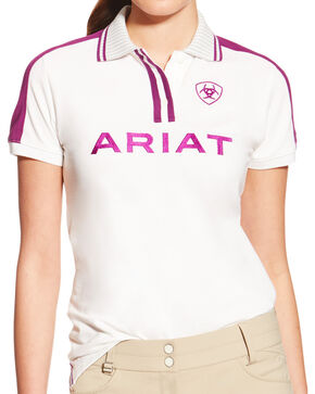 Ariat Women's FEI World Cup New Team Polo, Multi, hi-res