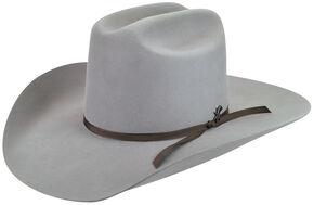 Bailey Men's Harshaw 2X Gun Metal Grey Cowboy Hat , Grey, hi-res
