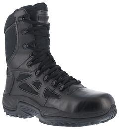 """Reebok Women's 8"""" Side-Zip Rapid Response Tactical Boots, , hi-res"""
