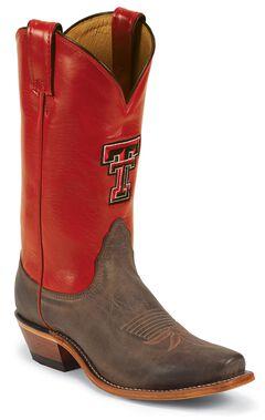 Nocona Texas Tech College Cowgirl Boots - Snip Toe, , hi-res