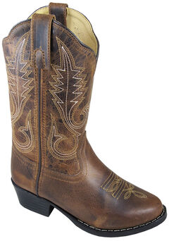Smoky Mountain Youth Girls' Annie Western Boots - Round Toe, , hi-res