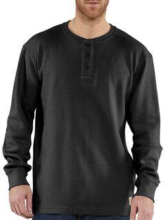 Carhartt Textured Knit Henley Long Sleeve Shirt - Big & Tall, , hi-res