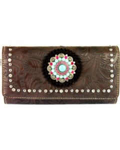 Montana West Concho Collection Wallet, , hi-res