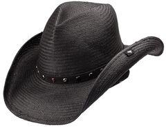 Peter Grimm Seraphim Straw Cowboy Hat, , hi-res