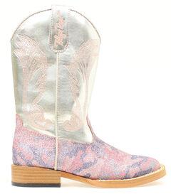 Blazin Roxx Girls' Youth Jolene Glitter Camo Boots, , hi-res