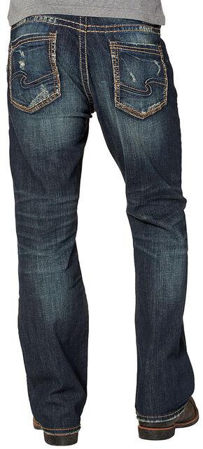Silver Men's Craig Rinse Wash Jeans - Bootcut , Indigo, hi-res