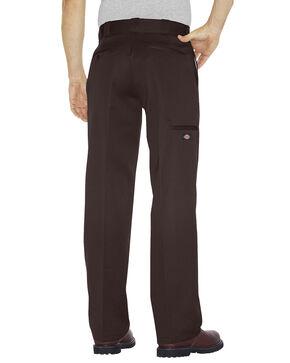 Dickies Loose Fit Double Knee Work Pants - Big & Tall, Dark Brown, hi-res