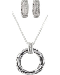 Montana Silversmiths Roped in Brilliance Jewelry Set, , hi-res