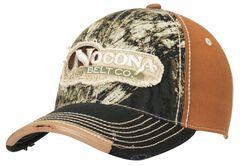 Nocona Logo Patch Mossy Oak Camo Cap, , hi-res