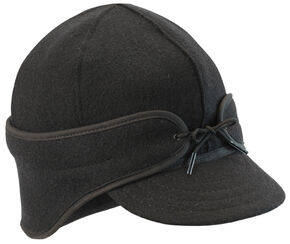 Stormy Kromer Men's Black The Rancher Cap, Black, hi-res