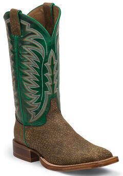 Justin Bay Desperado Stampede CPX Cowboy Boots - Square Toe , , hi-res