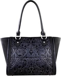Montana West Black Delila 100% Genuine Leather, , hi-res