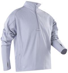 Tru-Spec Men's Grey 24-7 Grid Fleece Pullover , , hi-res