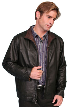 Scully Premium Lambskin Zip Front Jacket, , hi-res