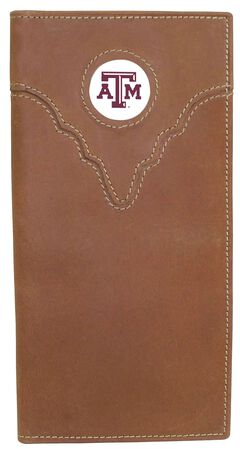 Texas A&M Logo Patch Checkbook, , hi-res
