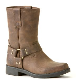 Frye Boys' Harness Pull-On Boots, Tan, hi-res