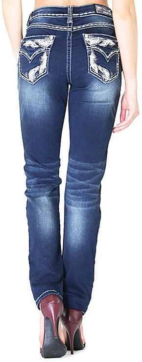 Grace in LA Easy Fit Skinny Jeans , Indigo, hi-res
