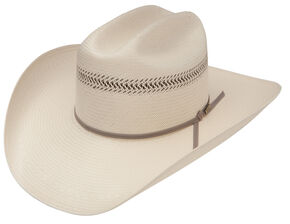 Resistol Men's Qualifiers Grainger 10X Straw Hat, Natural, hi-res