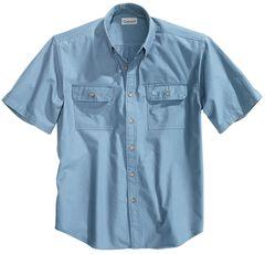 Carhartt Fort Short Sleeve Work Shirt - Big & Tall, , hi-res