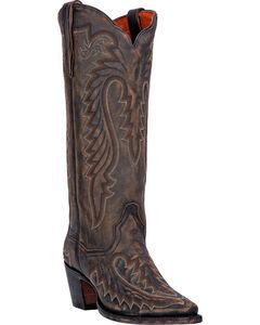 Dan Post Heather Cowgirl Boots - Snip Toe , , hi-res