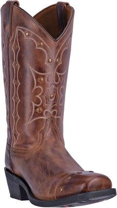 Dingo Rust Gavin Cowboy Boots - Square Toe , , hi-res