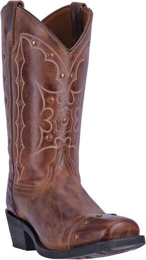 Dingo Rust Gavin Cowboy Boots - Square Toe , Rust, hi-res