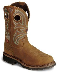 Tony Lama 3R Waterproof Work Boots - Steel Toe, , hi-res