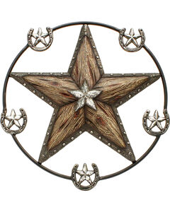 Western Moments Star and Horseshoe Wall Hanger, , hi-res