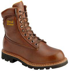 "Chippewa 8"" Waterproof Briar Hiking Boots - Round Toe, , hi-res"