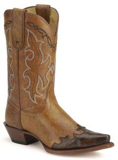 Tony Lama 100% Vaquero Western Cowgirl Boots - Snip Toe, , hi-res