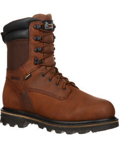 "Rocky 9"" Cornstalker Gore-Tex Waterproof Outdoor Boots - Round Toe, , hi-res"